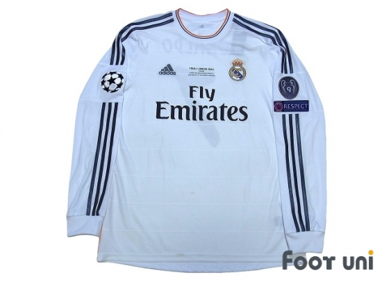best service 31b37 260cd Real Madrid 2013-2014 Home L/S Shirt #9 Ronaldo w/tags ...
