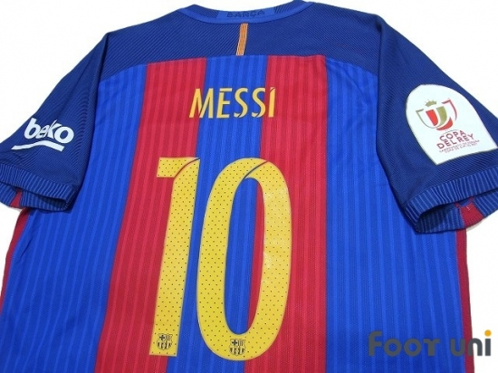 the best attitude c31fc 32699 Barcelona 2016-2017 Home Authentic Shirt #10 Messi w/tags ...
