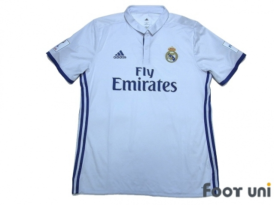 new arrival 0a837 8a93c Real Madrid 2016-2017 Home Authentic Shirt #7 Ronaldo FIFA ...