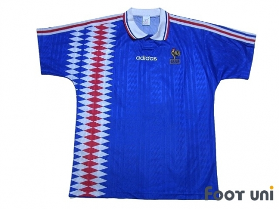 half off 4d721 e690e France 1994 Home Shirt - Online Store From Footuni Japan