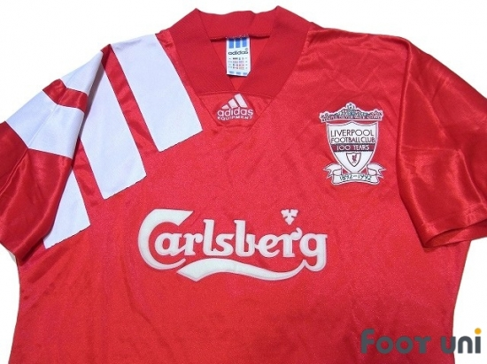promo code 0827d 9a3d7 Liverpool 1992-1993 Home Shirt - Online Store From Footuni Japan