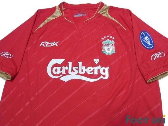 premium selection ef68b 1f5fe Liverpool 2005-2006 Home Shirt - Online Store From Footuni Japan