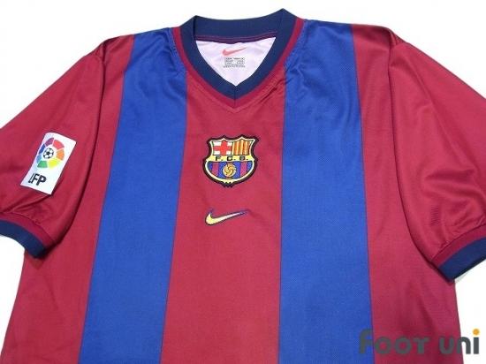 newest 5a493 f27a3 Barcelona 1998-2000 Home Shirt LFP Patch/Badge Nike La Liga ...