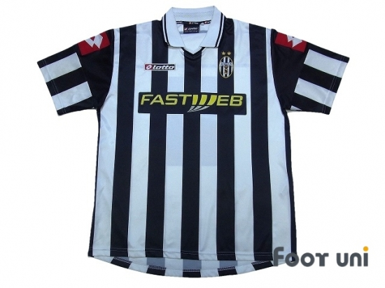 new arrival bd513 4acce Juventus 2001-2002 Home Shirt lotto - Online Store From ...