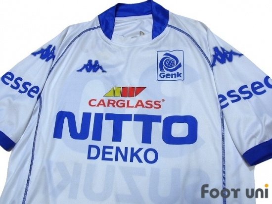 Krc Genk 2002 2003 Home Shirt Jersey 30 Suzuki Kappa Europe League Others Football Shirts Soccer Jerseys Vintage Classic Retro Online Store From Footuni Japan