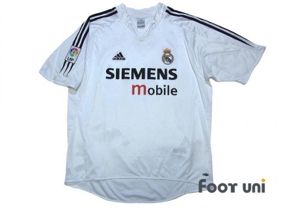 the best attitude c0209 4454d Real Madrid 2004-2005 Home Shirt/Jersey #9 Ronaldo LFP Patch ...