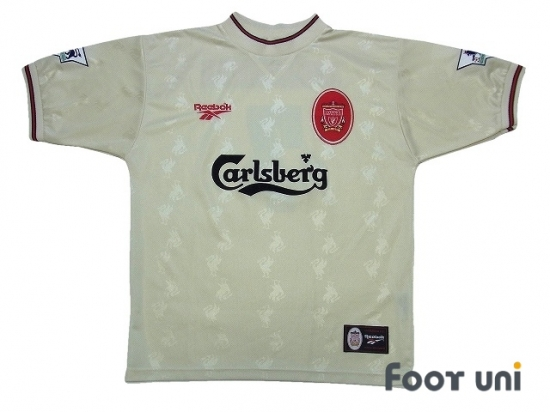 459d9d3af Liverpool 1996-1997 Away Shirt  7 McManaman The F.A. Premier League  Patch Badge  LVP67A0717412