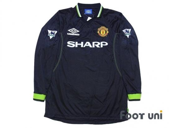 newest d9138 5afa4 Manchester United 1998-1999 3rd Long Sleeve Shirt #7 Beckham ...