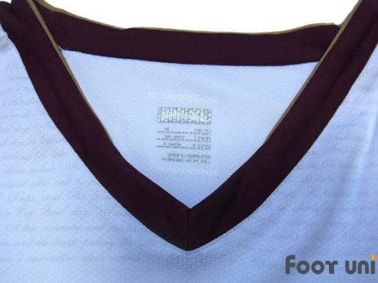 7acfc11ec Arsenal 2007-2008 Away Authentic Long Sleeve Shirt  4 Fabregas   ASN78A0418401