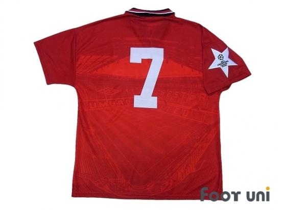 meet 2cb95 d847d Manchester United 1994-1996 Home Shirt #7 - Online Store ...