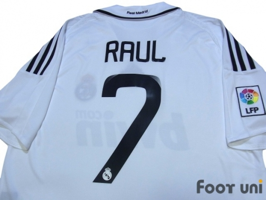online store e3572 62b06 Real Madrid 2008-2009 Home Shirt #7 Raul - Online Store From ...