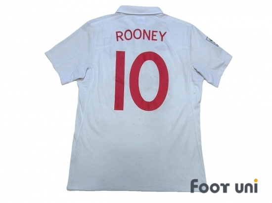 f416fc0b8 England 2010 Home Shirt  10 Rooney South Africa FIFA World Cup 2010  Patch Badge  ENG10H1018103