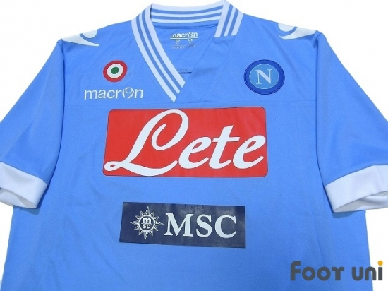 Napoli 2012 2013 Home Shirt 17 Hamsik Online Store From Footuni Japan