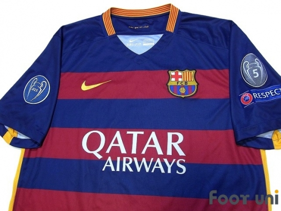 wholesale dealer 81711 2cdbb FC Barcelona 2015-2016 Home Shirt #10 Messi - Online Store ...