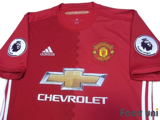 info for d7793 62ba8 Manchester United 2016-2017 Home Shirt #9 Ibrahimovic ...