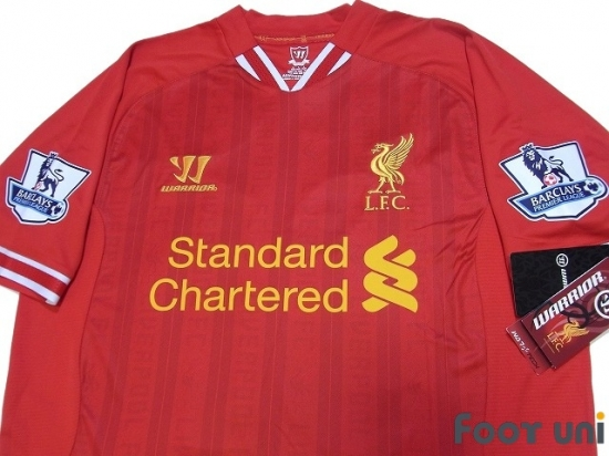 best loved e176f 703a7 Liverpool 2013-2014 Home Shirt #31 Sterling BARCLAYS PREMIER LEAGUE  Patch/Badge w/tags