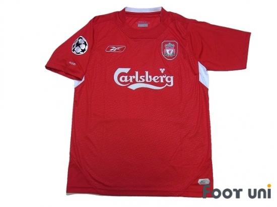 b95b9becb Liverpool 2004-2006 Home Shirt  8 Gerrard Champions League Patch Badge  w tags  LVP46H0818405