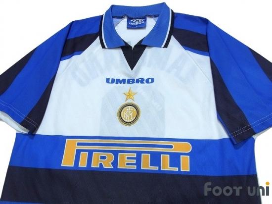 cheap for discount 6bd82 e63da Inter Milan 1996-1997 Away Shirt #9 Zamorano - Online Store ...