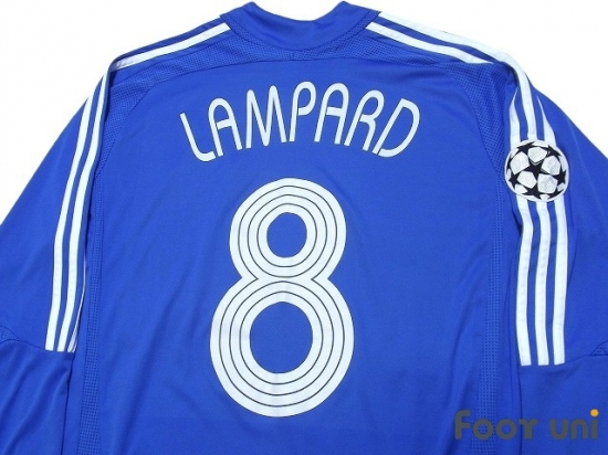 buy popular 2078e 2b77a Chelsea 2006-2008 Home Long Sleeve Shirt #8 Lampard - Online ...