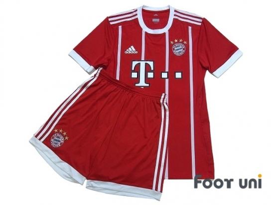huge discount c7591 698cf Bayern Munich 2017-2018 Home Authentic Shirt and Shorts Set