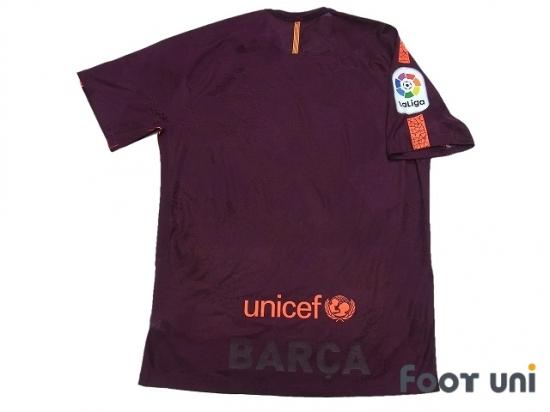 60896799e FC Barcelona 2017-2018 3rd Authentic Shirt and Shorts Set La Liga  Patch/Badge [BCN7830018507]