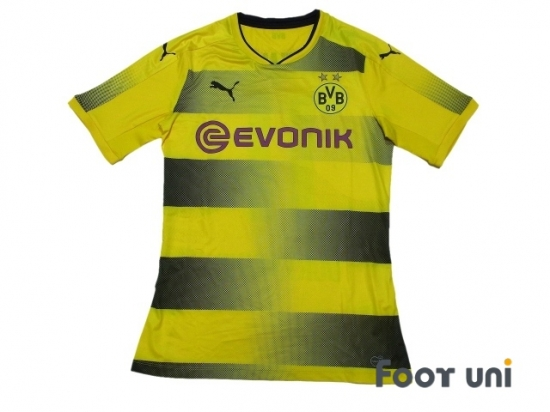 b7eea572d borussia dortmund 2017-2018 home authentic shirt  11 reus - online