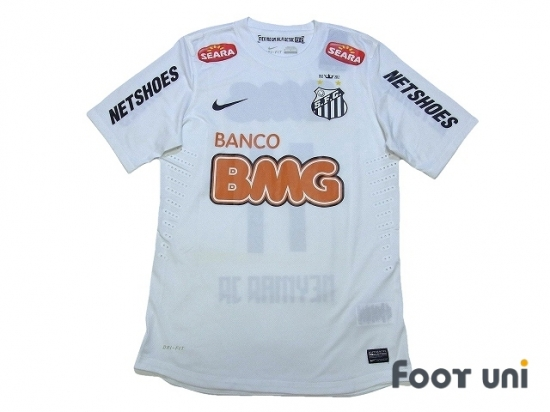 c9cca636706 Santos FC 2012 Home Authentic Shirt #11 Neymar Jr w/tags [SAN12H1118708]