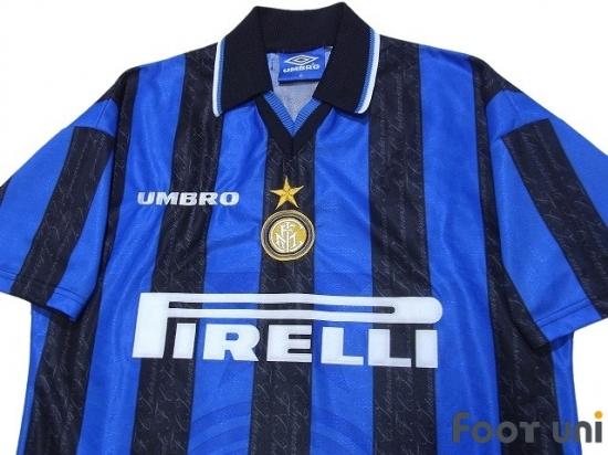the latest 73b83 27c02 Inter Milan 1997-1998 home Shirt #9 Zamorano - Online Store ...
