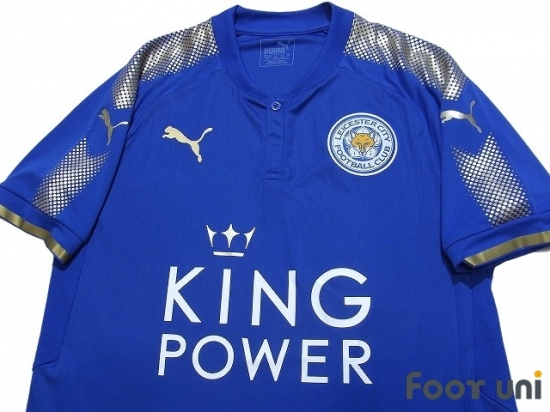 Leicester City 2017 2018 Home Shirt Online Store From Footuni Japan