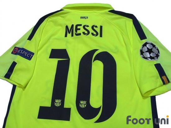 half off 360ef fb324 FC Barcelona 2014-2015 3rd Shirt #10 Messi - Online Store ...