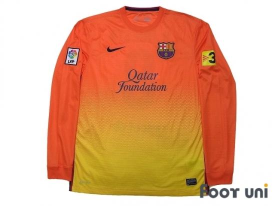 buy popular 3c92a 40fa8 FC Barcelona 2012-2013 Away Long Sleeve Shirt #8 A.Iniesta ...