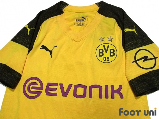 Borussia Dortmund 2018 2019 Home Authentic Shirt Online Store From Footuni Japan