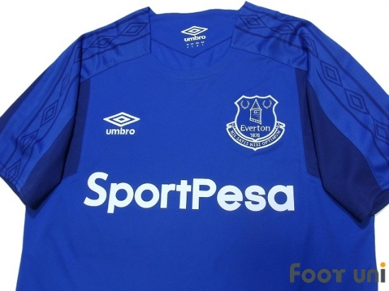 new styles 05998 766c3 Everton 2017-2018 Home Shirt - Online Store From Footuni Japan