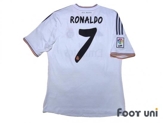 reputable site 05fcd 2bb74 Real Madrid 2013-2014 Home Shirt #7 Ronaldo - Online Store ...