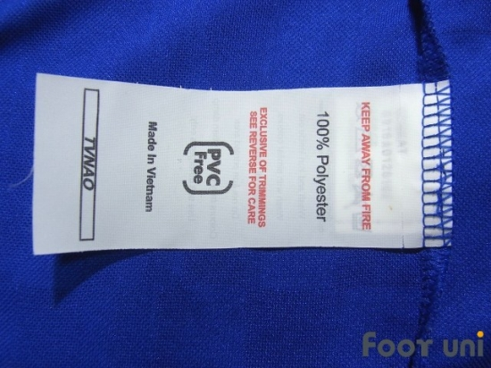 8cb7fe352 Leicester City 2016-2017 Home Shirt  20 Okazaki Champions League Patch Badge  Respect Patch Badge  LTR67H2018411