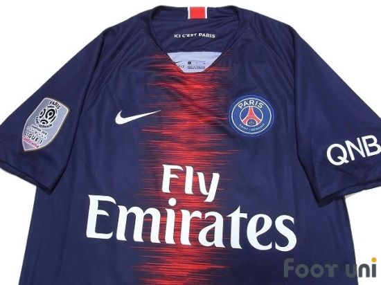 wholesale dealer 54134 2fe8f Paris Saint Germain 2018-2019 Home Shirt #7 Mbappe - Online ...