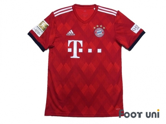 buy online 36e33 3fd82 Bayern Munich 2018-2019 Home Shirt #11 James Rodriguez Bundesliga  Patch/Badge