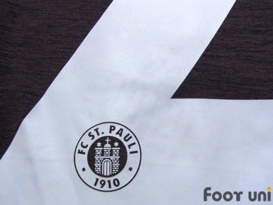 325e1d7cb0f FC St. Pauli 2014-2015 Home Shirt #22 Görlitz Bundesliga Patch/Badge Hermes  Patch/Badge DISKRIMINIERUNG Patch/Badge [STP45H2219601]