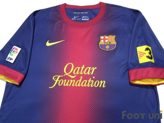 cebf404466c FC Barcelona 2012-2013 Home Shirt  8 A.Iniesta - Online Store From ...