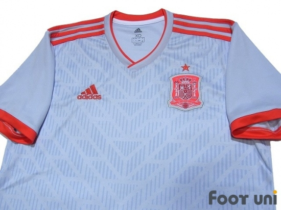27f5b2d33bd Spain 2018 Away Shirt - Online Store From Footuni Japan