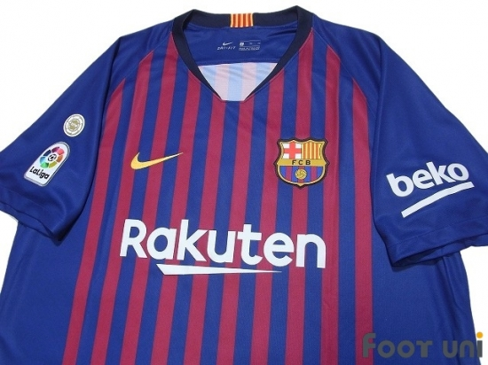 huge discount 0f8da 29727 FC Barcelona 2018-2019 Home Shirt #10 Messi - Online Store ...
