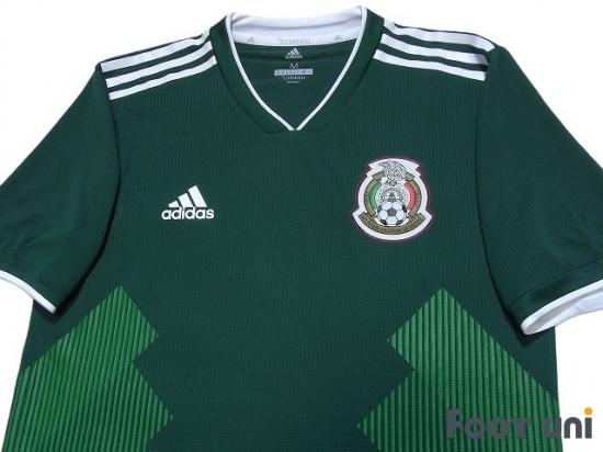 sports shoes 57603 bc38e Mexico 2018 Home Authentic Shirt