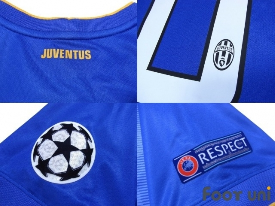 f21889a01 Juventus 2014-2015 Away Shirt  6 Pogba Champions League Patch Badge w tags   JUV45A0619303