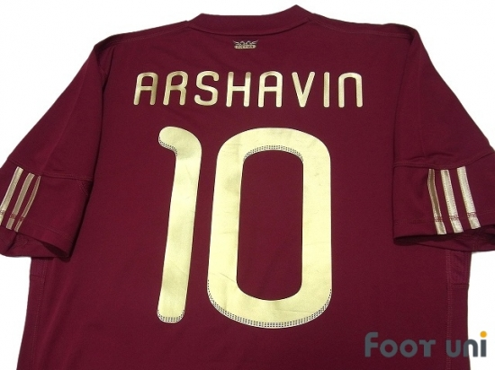 sports shoes 6ab84 4fd0b Russia 2010 Home Shirt #10 Arshavin - Online Store From ...