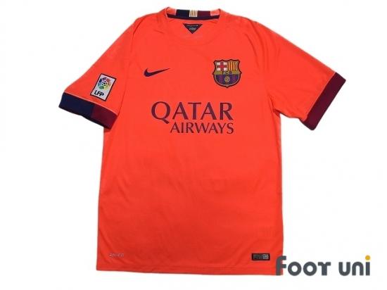 various colors f7f8d aa8ca FC Barcelona 2014-2015 Away Shirt #8 A.Iniesta LFP Patch/Badge