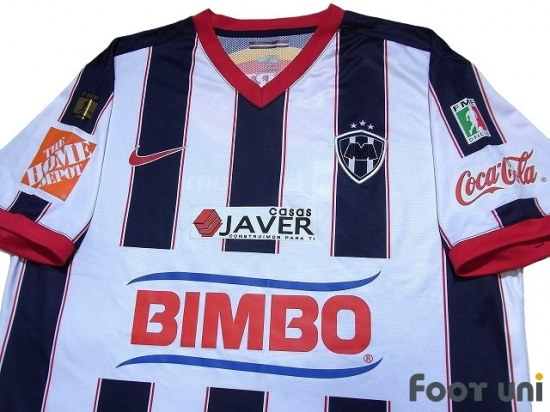 wholesale dealer 11ae7 70659 CF Monterrey 2009-2010 Home Shirt - Online Store From ...
