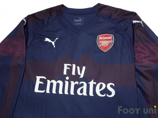05484655 Arsenal 2018-2019 Away Long Sleeve Shirt #9 Lacazette - Online Store ...