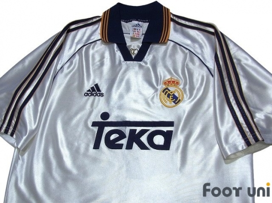 on sale fcf98 5a746 Real Madrid 1998-2000 Home Shirt #7 Raul - Online Store From ...