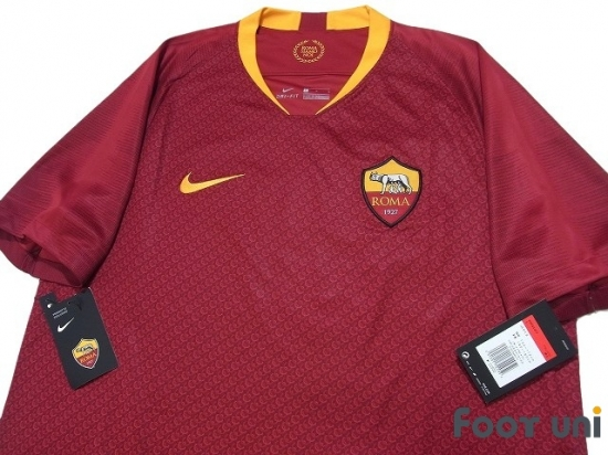 new styles dd976 48808 AS Roma 2018-2019 Home Shirt w/tags