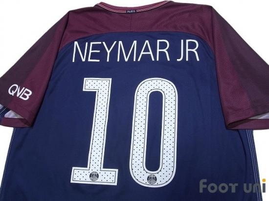 wholesale dealer bc00f e174f Paris Saint Germain 2017-2018 Home Shirt #10 Neymar Jr